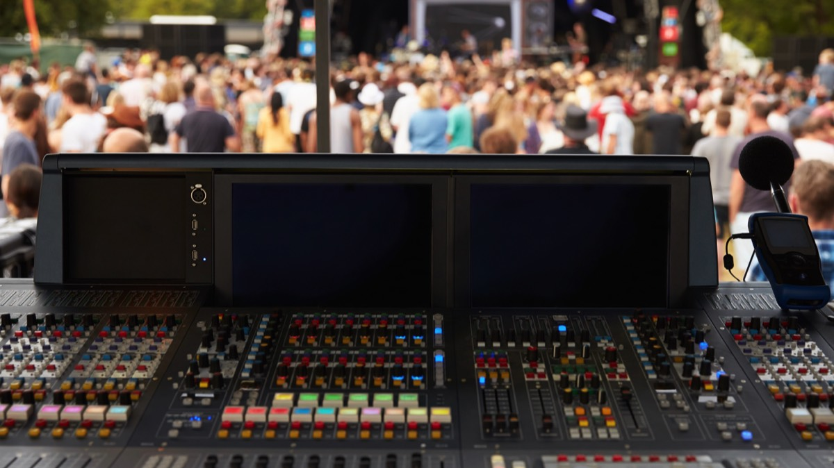 live sound mixing training